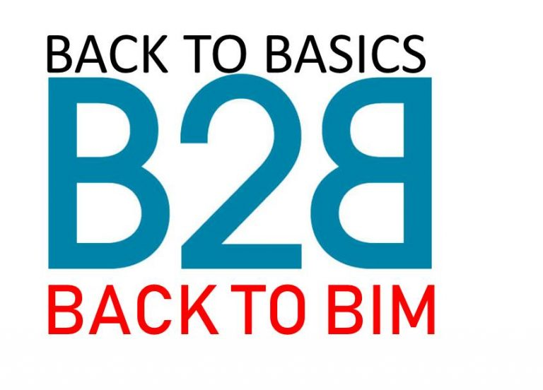 "Back to Basics: Back to ""BIM"""